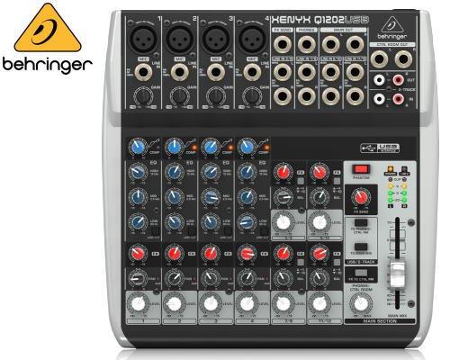 BEHRINGER(ベリンガー)アナログミキサー(12ch) Q1202USB XENYX