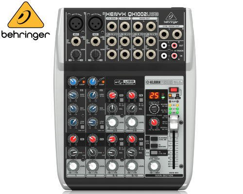 BEHRINGER(ベリンガー)アナログミキサー(10ch) QX1002USB XENYX