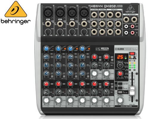 BEHRINGER(ベリンガー)アナログミキサー(12ch) QX1202USB XENYX