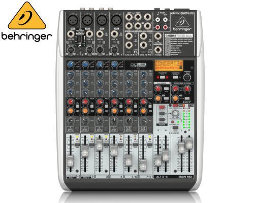 BEHRINGER(ベリンガー)アナログミキサー(8ch) QX1204USB XENYX