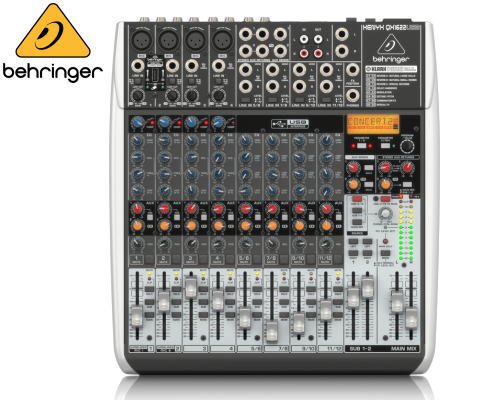 BEHRINGER(ベリンガー)アナログミキサー(12ch) QX1622USB XENYX