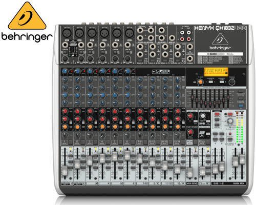 BEHRINGER(ベリンガー)アナログミキサー(14ch) QX1832USB XENYX