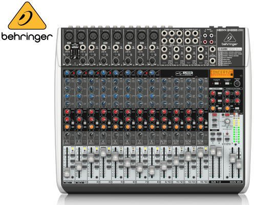 BEHRINGER(ベリンガー)アナログミキサー(16ch) QX2222USB XENYX
