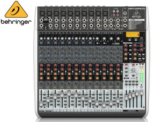 BEHRINGER(ベリンガー)アナログミキサー(16ch) QX2442USB XENYX
