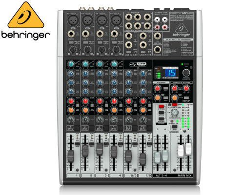 BEHRINGER(ベリンガー)アナログミキサー(8ch) X1204USB XENYX
