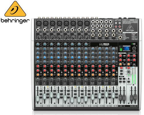 BEHRINGER(ベリンガー)アナログミキサー(16ch) X2222USB XENYX