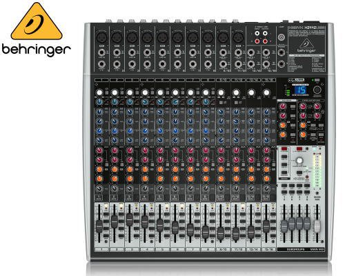 BEHRINGER(ベリンガー)アナログミキサー(16ch) X2442USB XENYX