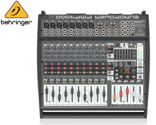 BEHRINGER(ベリンガー)16chステレオパワード・ミキサー PMP4000 EUROPOWER