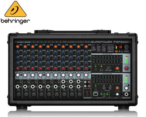 BEHRINGER(ベリンガー)14chステレオパワード・ミキサー PMP2000D EUROPOWER