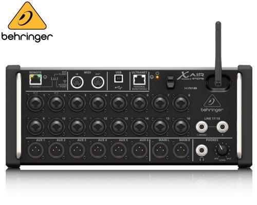 BEHRINGER(ベリンガー)デジタルミキサー XR18 X AIR