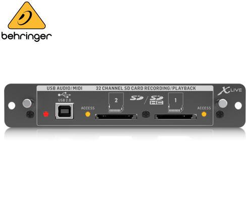BEHRINGER(ベリンガー)X32用マルチトラック・レコーディングカード X-LIVE