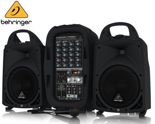 BEHRINGER(ベリンガー)ポータブルPAシステム PPA500BT EUROPORT