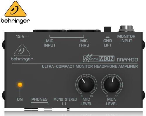 BEHRINGER(ベリンガー)ヘッドホンアンプ MA400 MICROMON