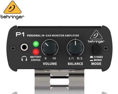 BEHRINGER(ベリンガー)インイヤー・モニターアンプ P1 POWERPLAY