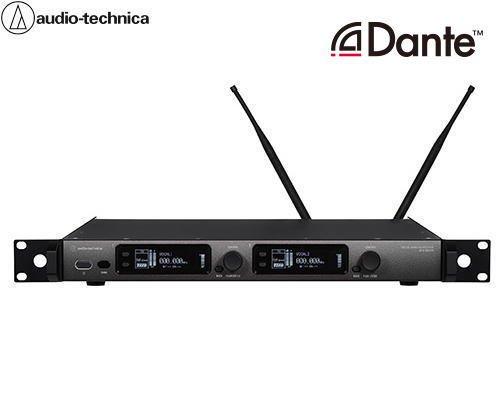 audio-technica Dante付き2chレシーバー(3000 Digital シリーズ) ATW-DR3120DANHH1