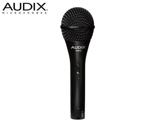 AUDIX(オーディックス)ダイナミック型マイクロホン OM2S(スイッチ付)