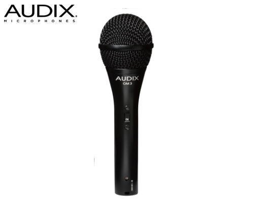 AUDIX(オーディックス)ダイナミック型マイクロホン OM3S(スイッチ付)