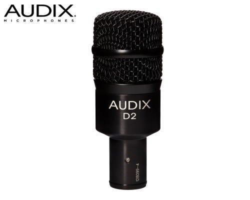 AUDIX(オーディックス)楽器用ダイナミック型マイクロホン D2