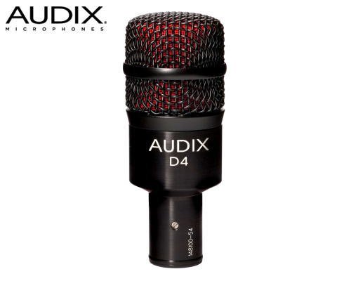 AUDIX(オーディックス)楽器用ダイナミック型マイクロホン D4