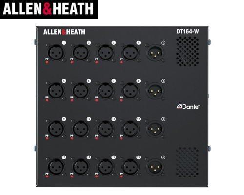 ALLEN&HEATH(A&H)/アレン&ヒース(アレヒ) Dante オーディオエクスパンダー(埋め込み設置型) DT164-W