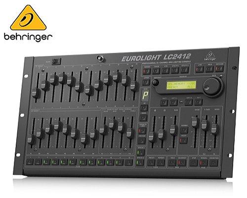 BEHRINGER(ベリンガー)DMX照明制御コントローラー LC2412 V2 EUROLIGHT