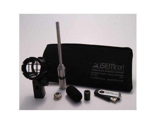 iSEMcon(アイ セムコン)EMX-7150-CF2 音響測定マイク(ショックマウントホルダーセット)