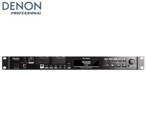 DENON Dante搭載ネットワークSD/USBレコーダー DN-900R