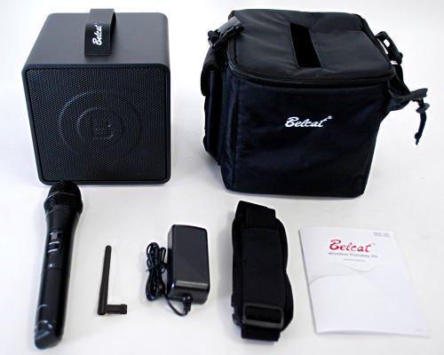 Belcat ワイヤレスポータブルPAアンプ BWPA-30W (チャンネル切替対応モデル/出力:30W/ワイヤレス:1本付モデル)