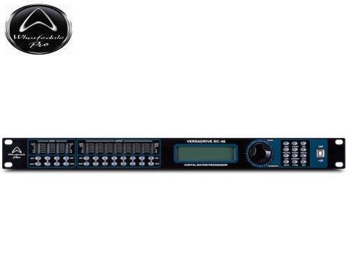 Wharfedale Pro(ワーフデールプロ) VERSADRIVE SC Series プロセッサー SC-48