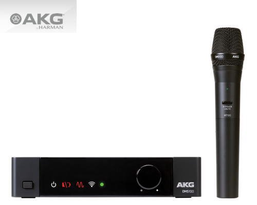 AKG 2.4GHz帯ワイヤレスシステム DMS100 SET ハンドヘルドマイク