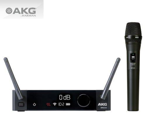 AKG 2.4GHz帯ワイヤレスシステム DMS300 SET ハンドヘルドマイク