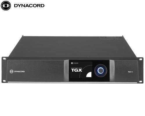 DYNACORD(ダイナコード)DSP搭載 4chパワーアンプ TGX10