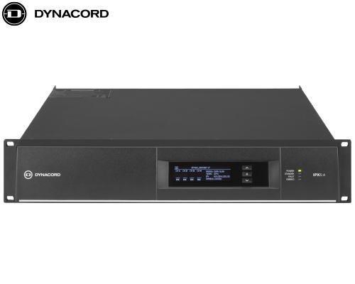 DYNACORD(ダイナコード)DSP搭載 4chパワーアンプ IPX5.4