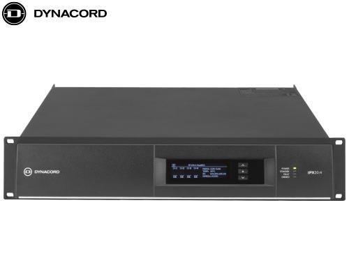 DYNACORD(ダイナコード)DSP搭載 4chパワーアンプ IPX20.4