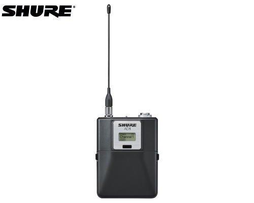 SHURE ボディーパック型送信機 1.2GHz帯 AD1LEMO3-Z16(LEMO3コネクター)