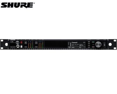 SHURE デジタルトゥルーダイバーシティ受信機 2チャンネルモデル 1.2GHz帯 AD4DJ-Z16