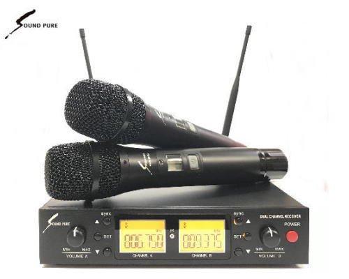 Soundpure(サウンドピュア) デュアルマイクロホン ワイヤレスセット B帯 SPWH01-112-2