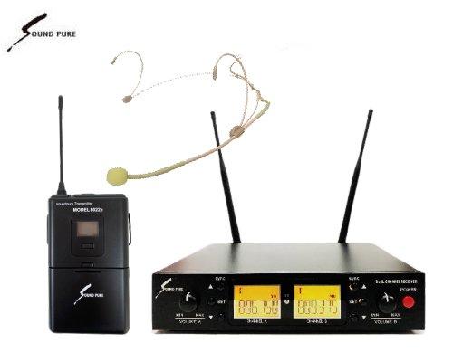 Soundpure(サウンドピュア) ヘッドウォーンマイクロホン ワイヤレスセット B帯 SPWH01-22eHSBE