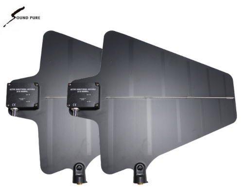Soundpure(サウンドピュア) 指向性アクティブアンテナ(ブースター内蔵)ペアセット  SP-9100