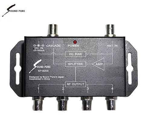 Soundpure(サウンドピュア) ブースター電源供給型分配器 SP-9200