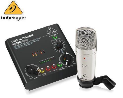 BEHRINGER(ベリンガー)レコーディングバンドルセット VOICE STUDIO