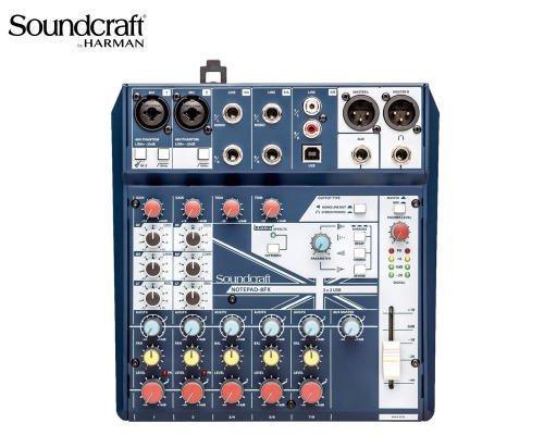 Soundcraft / サウンドクラフト アナログミキサー Notepad-8FX