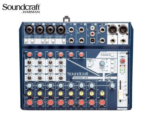 Soundcraft / サウンドクラフト アナログミキサー Notepad-12FX