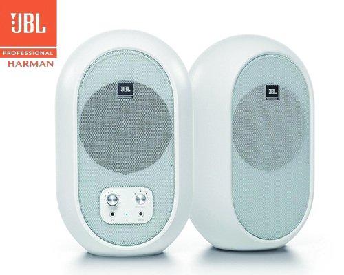JBL 2-Wayフルレンジ・パワードスタジオモニター Bluetooth入力対応モデル 104-BTW-Y3(ホワイト)
