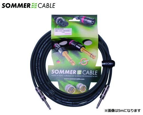SOMMER CABLE 楽器用ケーブル COLONEL INCREDIBLE CMSS-0300(3m/SS)