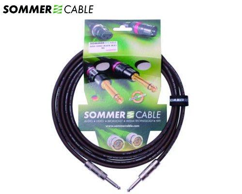 SOMMER CABLE 楽器用ケーブル SC-SPIRIT BLACKZILK SZSS-0500(5m/SS)