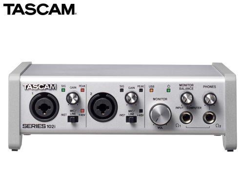 TASCAM USBオーディオ/MIDIインターフェース SERIES 102i