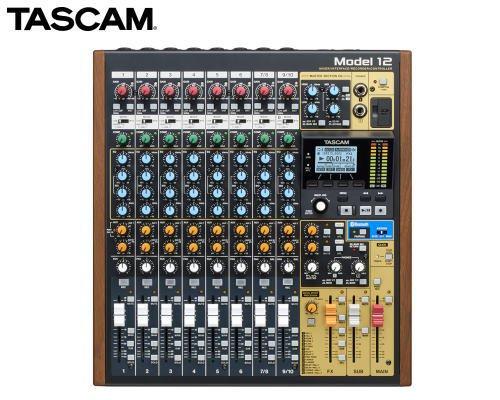 TASCAM 12トラックライブレコーディングミキサー(USBオーディオインターフェース搭載) Model 12