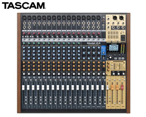TASCAM 24トラックライブレコーディングミキサー(USBオーディオインターフェース搭載) Model 24