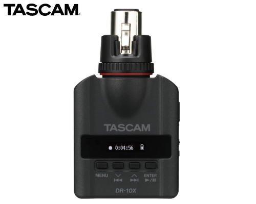TASCAM XLRマイク用プラグオンマイクロリニアPCMレコーダー DR-10X